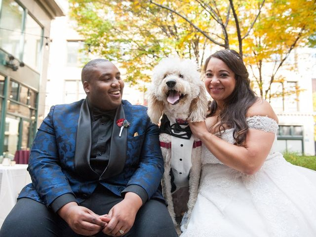The wedding of Caysie and Kevin