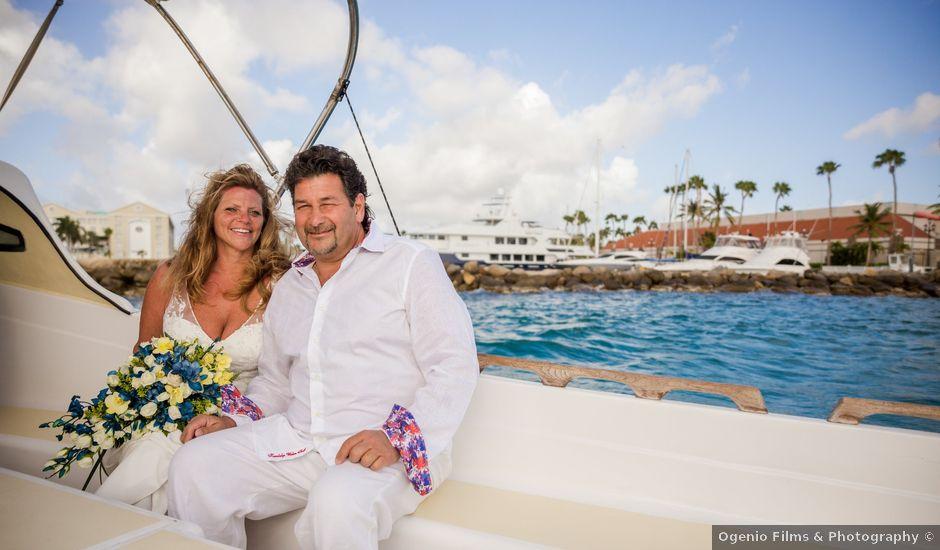 Frank and Michele's Wedding in Oranjestad, Aruba