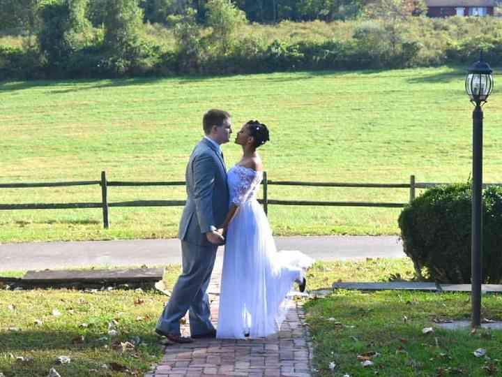 The wedding of Tiara and Ian