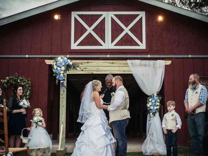 The wedding of Bailey and Shane