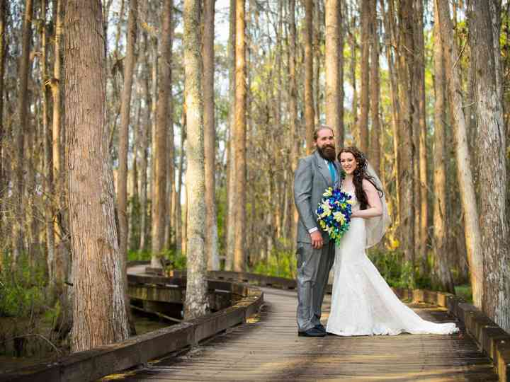 The wedding of Britta and Evan