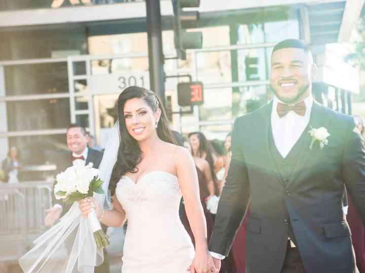 The wedding of Allison and Thomas