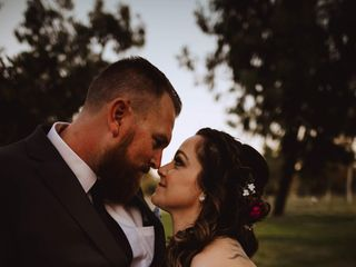 The wedding of Tabytha and Matthew 1