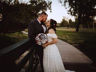 The wedding of Tabytha and Matthew