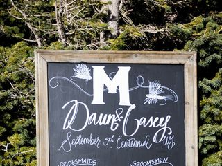 The wedding of Casey and Dawn 2