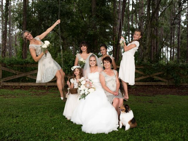 Paul and Ashley's Wedding in Clermont, Florida 7