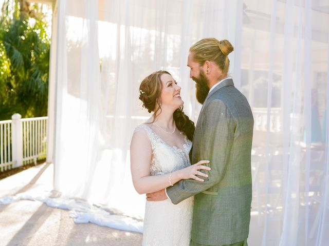 Evan and Britta's Wedding in Tarpon Springs, Florida 10