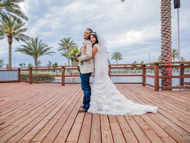 The wedding of Sal and Hannah