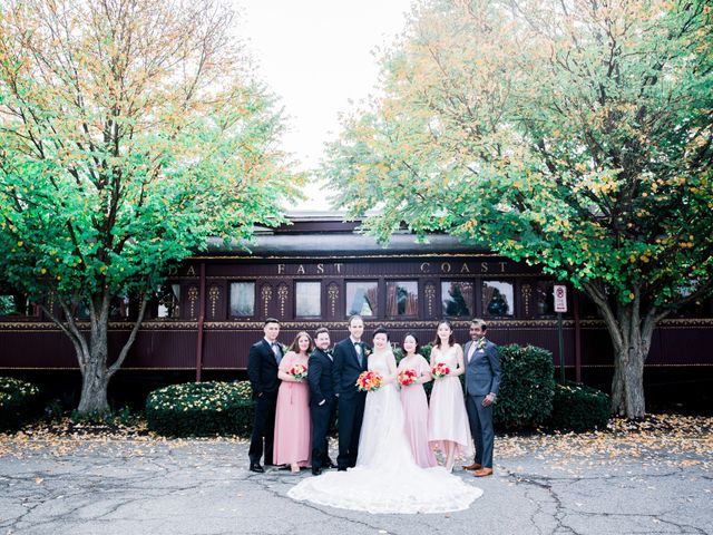 Jason and Lei's Wedding in Morristown, New Jersey 38