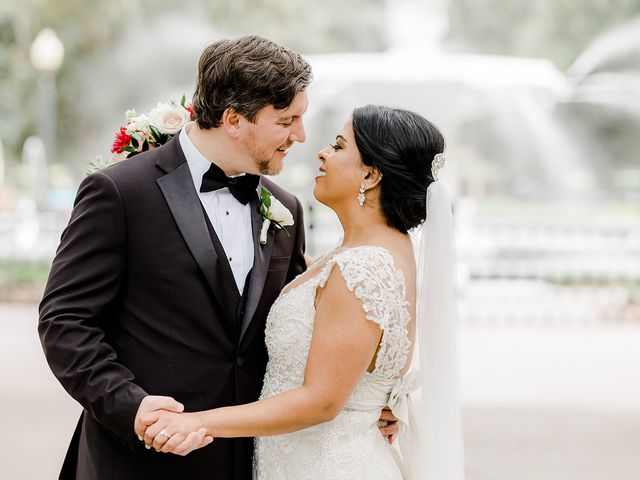 The wedding of Feona and Justin