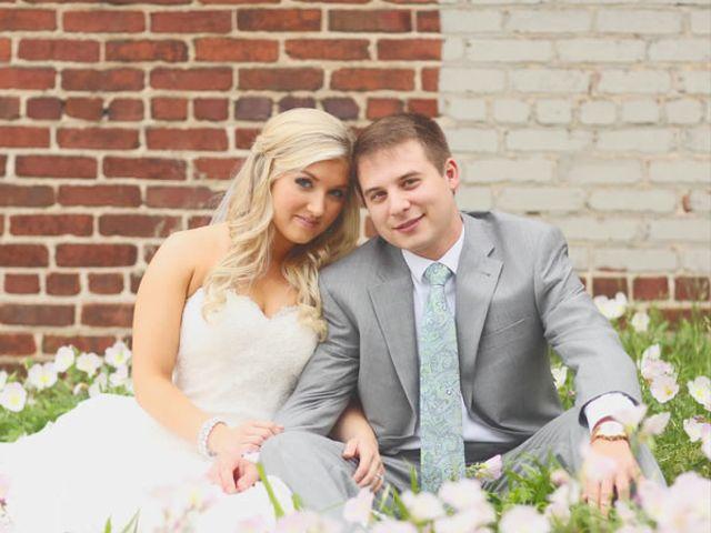 The wedding of Corey and Lauren