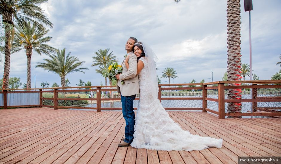 Hannah and Sal's Wedding in Norco, California