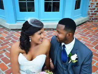 The wedding of Jamal and Simone