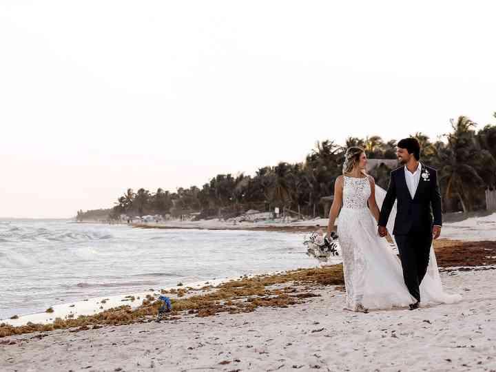 The wedding of Viviane and Juliano