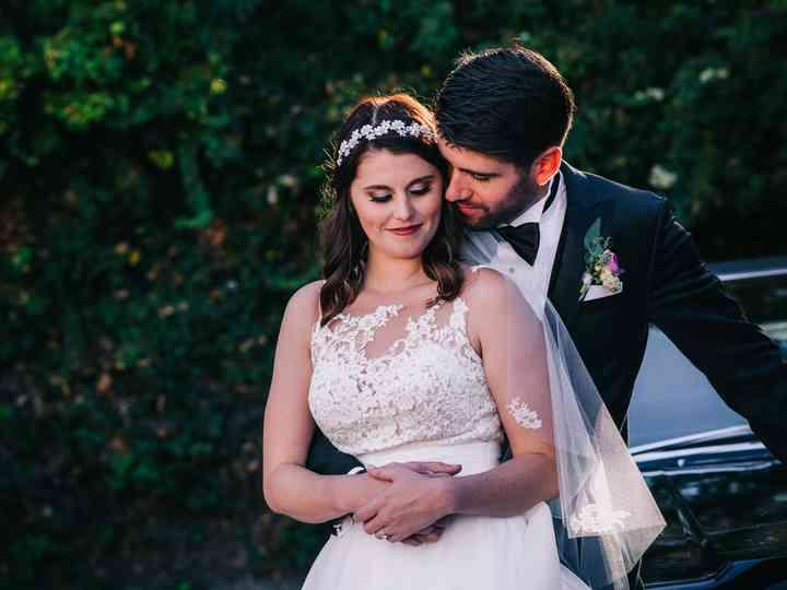 The wedding of Holly and Matt