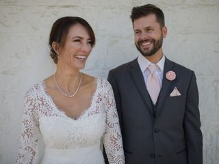The wedding of Jamie and Geoff
