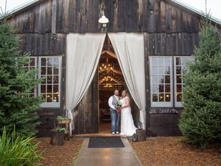 The wedding of Amelia and Troy