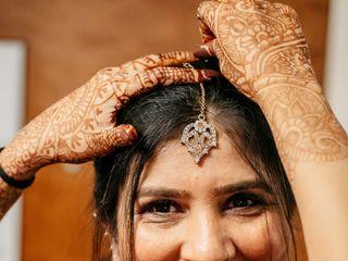 The wedding of Nida and Harsh 2