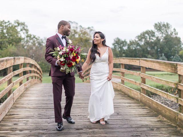 The wedding of Lezley and Jovante