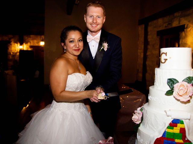 The wedding of Vicki Gentry and Landon Gentry