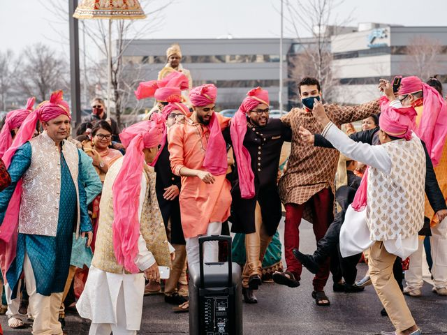 Harsh and Nida's Wedding in Naperville, Illinois 11