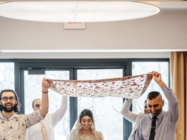 Harsh and Nida's Wedding in Naperville, Illinois 19