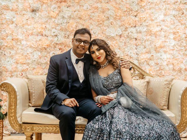 The wedding of Nida and Harsh