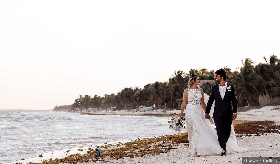 Juliano and Viviane's Wedding in Tulum, Mexico