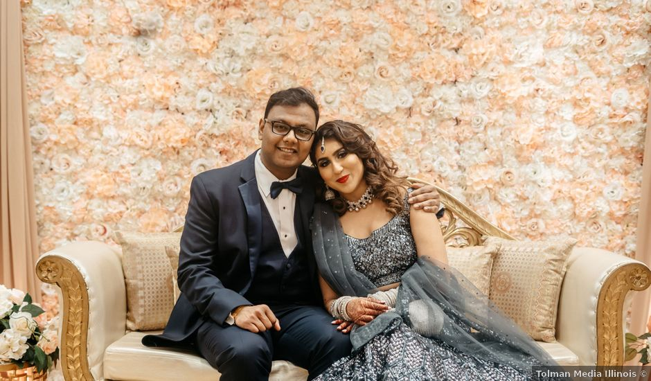 Harsh and Nida's Wedding in Naperville, Illinois