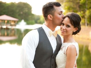 The wedding of Shawn and Gina