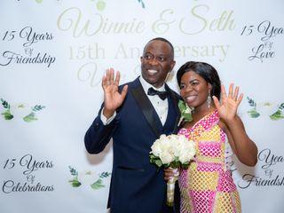 The wedding of Seth and Winnie