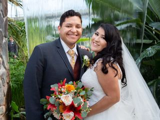 The wedding of Hector and Melina