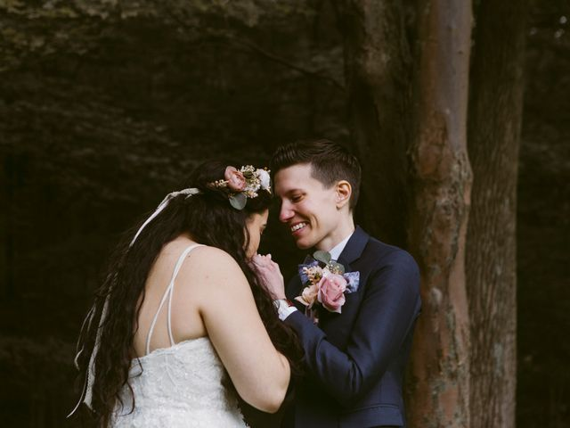 Melba and Aimee's Wedding in Cold Spring, New York 15