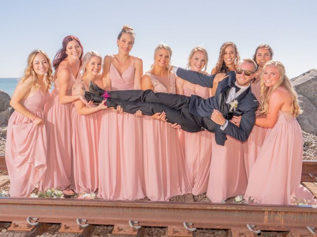Zach and Ashley's Wedding in San Clemente, California 6