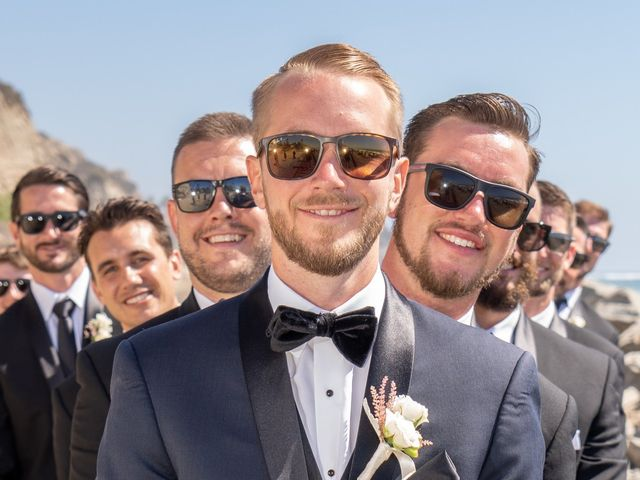 Zach and Ashley's Wedding in San Clemente, California 8
