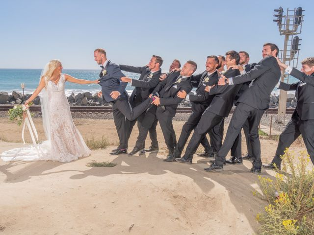 Zach and Ashley's Wedding in San Clemente, California 9