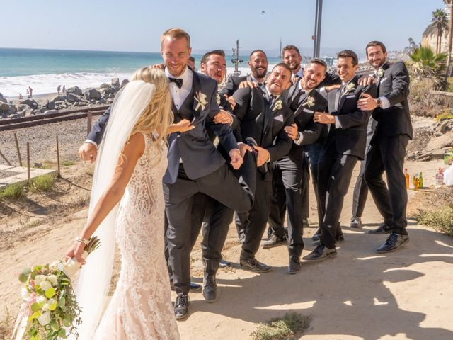 Zach and Ashley's Wedding in San Clemente, California 10