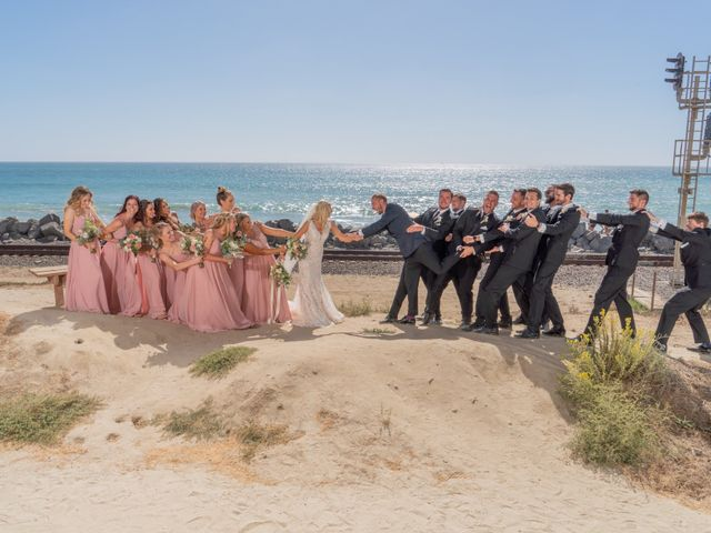 Zach and Ashley's Wedding in San Clemente, California 11