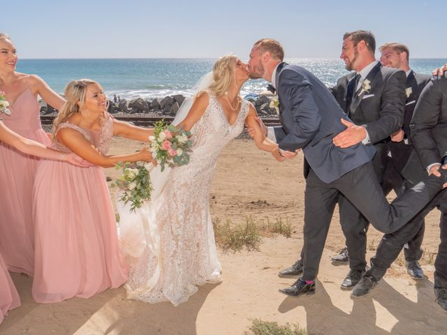 Zach and Ashley's Wedding in San Clemente, California 12
