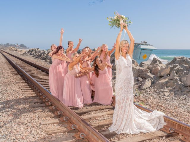 Zach and Ashley's Wedding in San Clemente, California 14