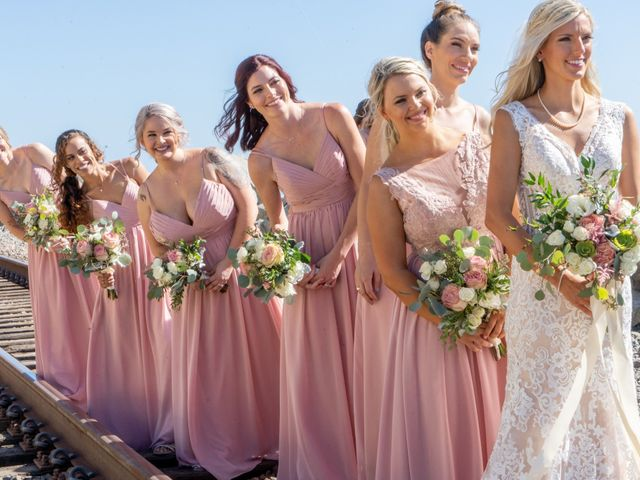 Zach and Ashley's Wedding in San Clemente, California 15