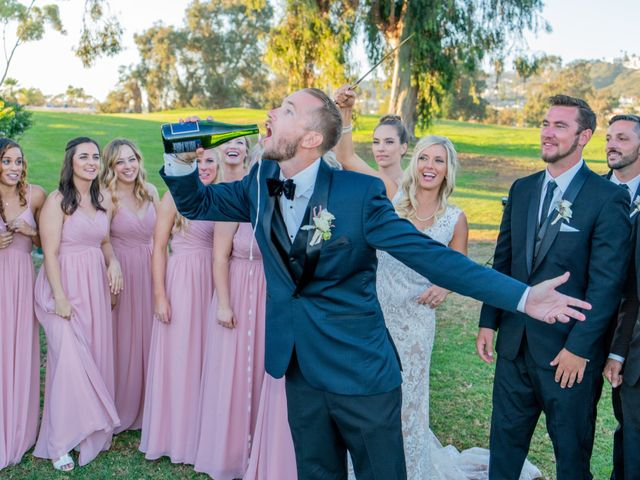 Zach and Ashley's Wedding in San Clemente, California 20