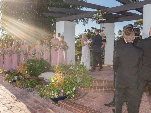 Zach and Ashley's Wedding in San Clemente, California 26