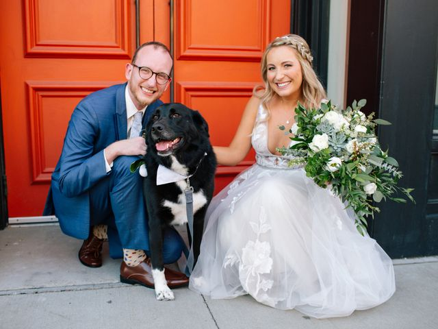 The wedding of Abigayle and Brendan