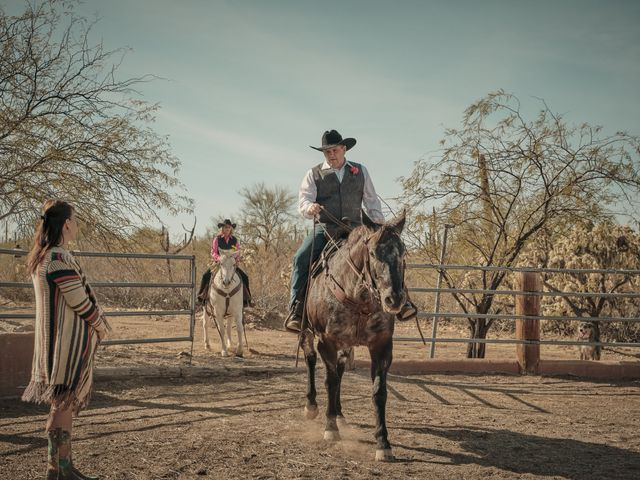David and KayeLynn's Wedding in Tucson, Arizona 10