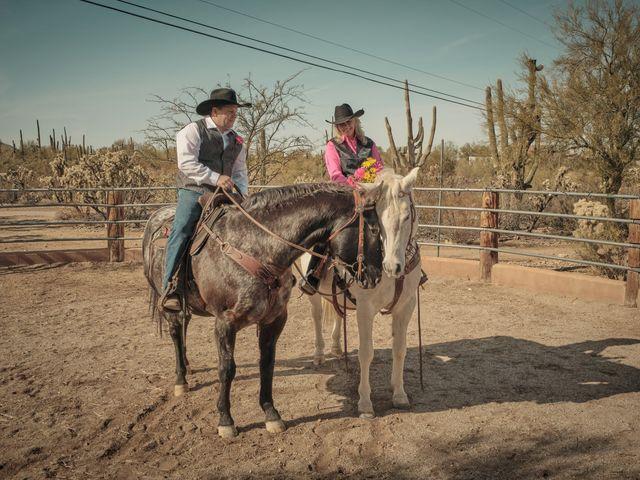 David and KayeLynn's Wedding in Tucson, Arizona 30