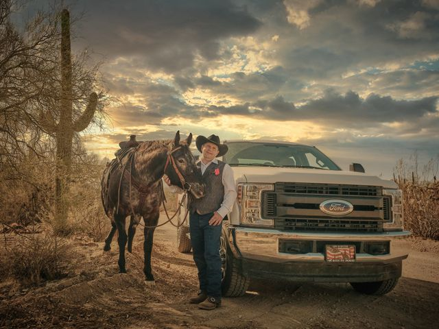 David and KayeLynn's Wedding in Tucson, Arizona 41
