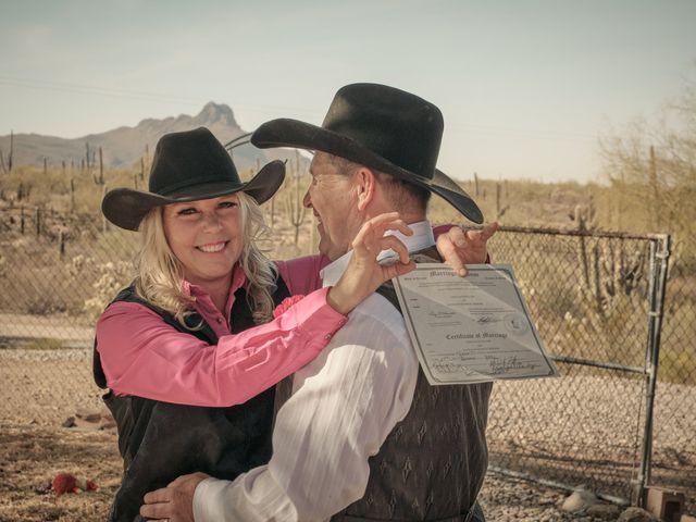 David and KayeLynn's Wedding in Tucson, Arizona 63