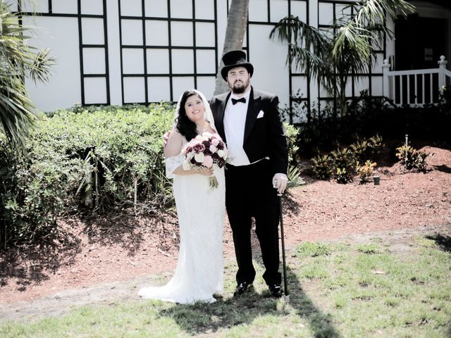 The wedding of Lindsy and Wilton