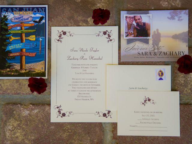 Sara and Zachary's Wedding in Friday Harbor, Washington 2